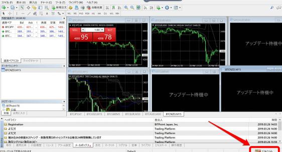 MT4でビットコイン(仮想通貨)を取引/自動売買する方法   ただいまFX自動売買中