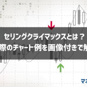 セリクラ(セリングクライマックス)とは?チャート例画像付きで徹底解説!【FX・仮想通貨・日経平均株価】